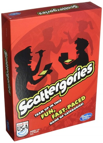 Scattergories Board Game Review Rules Instructions