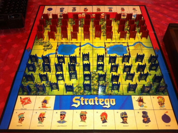 essay on the board game stratego