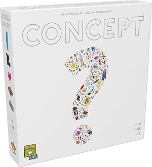 Concept game box cover