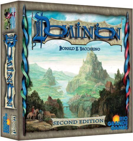 Dominion board game box cover