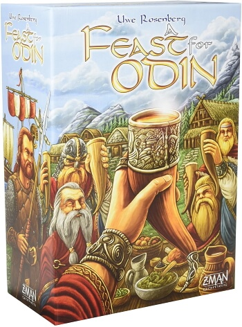 A Feast for Odin board game box cover
