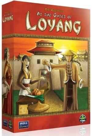 At the Gates of Loyang board game box cover