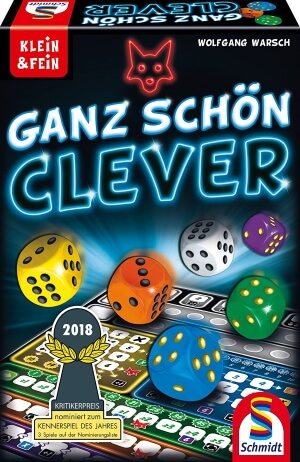 Ganz Schön Clever game box cover