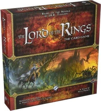 Lord of the Rings The Card Game box cover