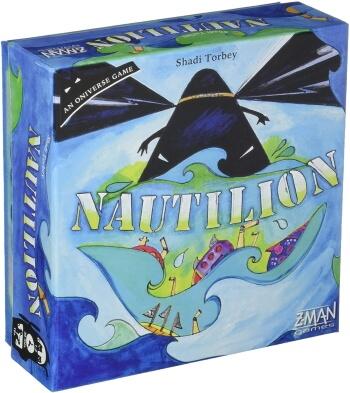 Nautilion Board Game box cover