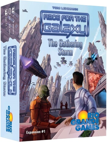 Race for the Galaxy The Gathering Storm expansion box cover