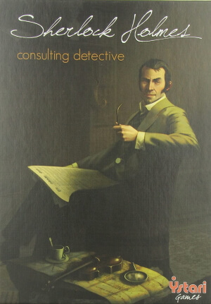 Sherlock Holmes Consulting Detective board game box cover
