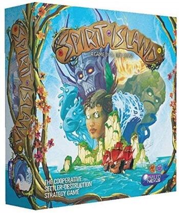 Spirit Island board game box cover