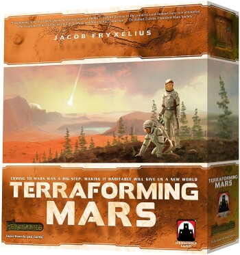 Terraforming Mars board game box cover