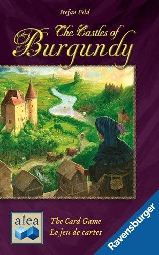 The Castles Of Burgundy Card Game box cover