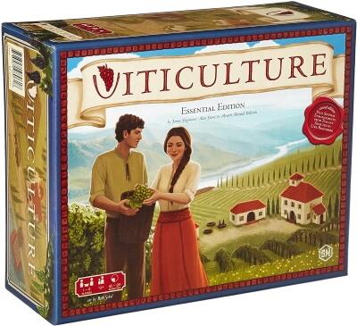Viticulture Essential Edition board game box cover