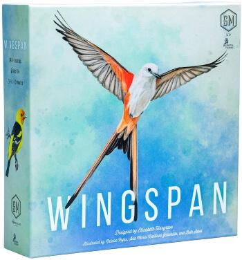 Wingspan board game box cover