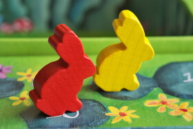 bunnies on board game