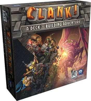 Clank board game box cover