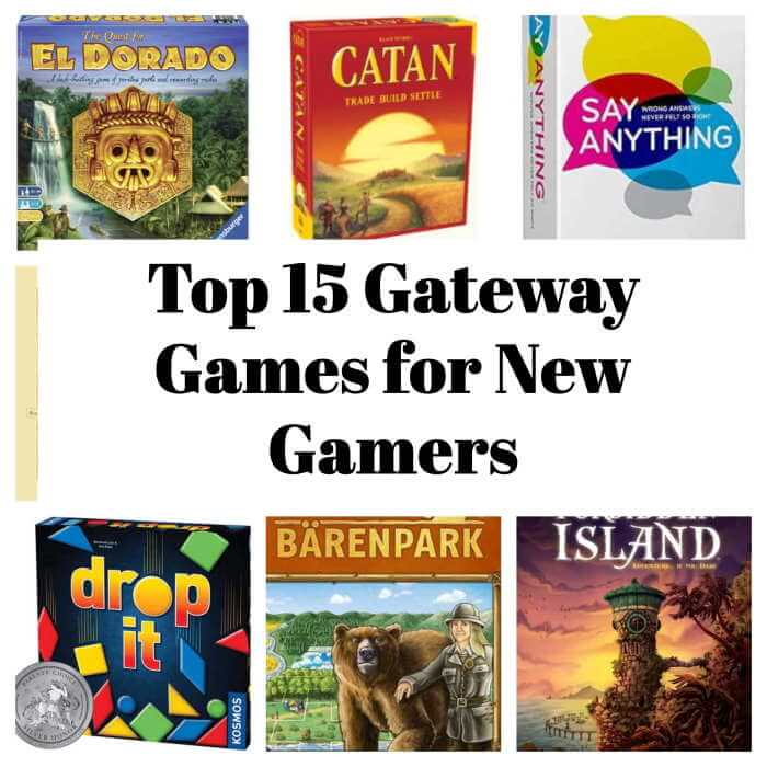 Gateway board games collection collage