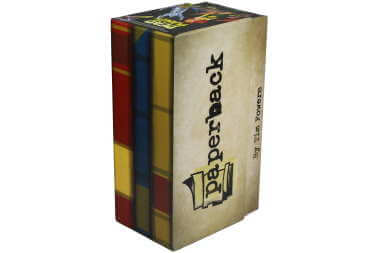 Paperback game box cover