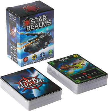 Star Realms deck building game box cover
