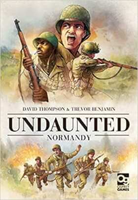 Undaunted Normandy game box cover