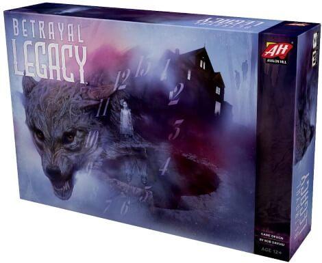 Betrayal Legacy board game box