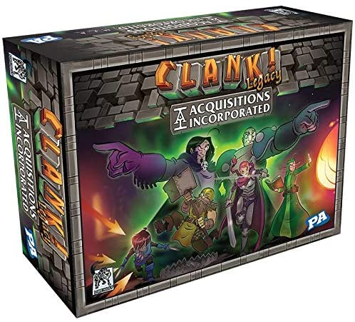 Clank Legacy game box cover