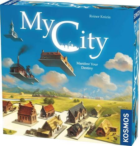 My City board game box