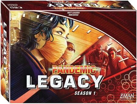 Pandemic Legacy box cover