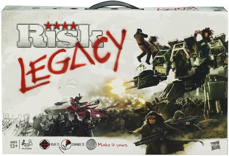 Risk Legacy board game box cover