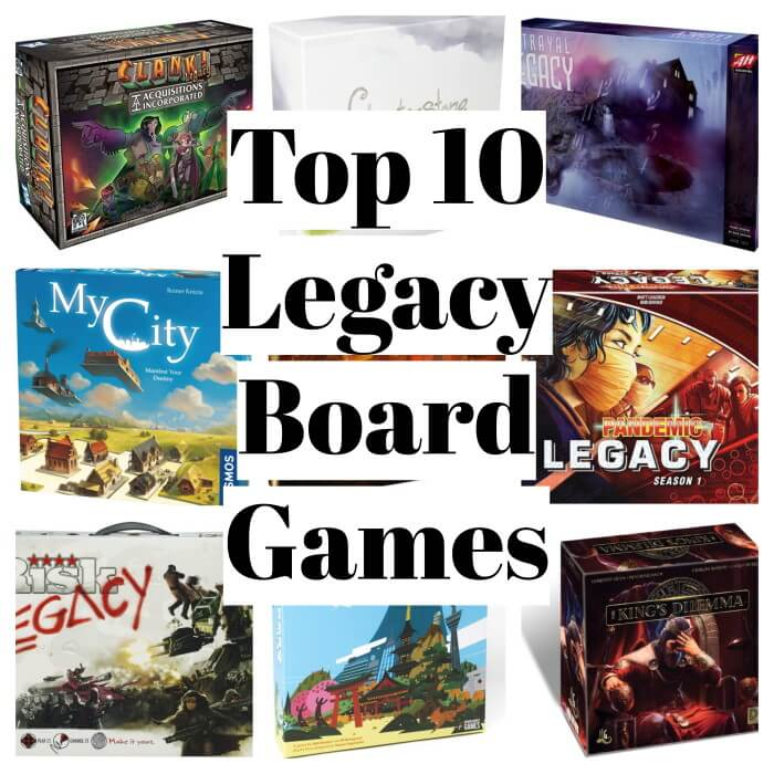 legacy board games collage